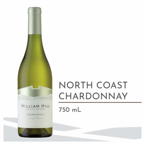 William Hill Estate North Coast Chardonnay White Wine 750ml Perspective: front