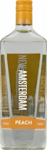 New Amsterdam Peach Flavored Vodka 1.75L Perspective: front