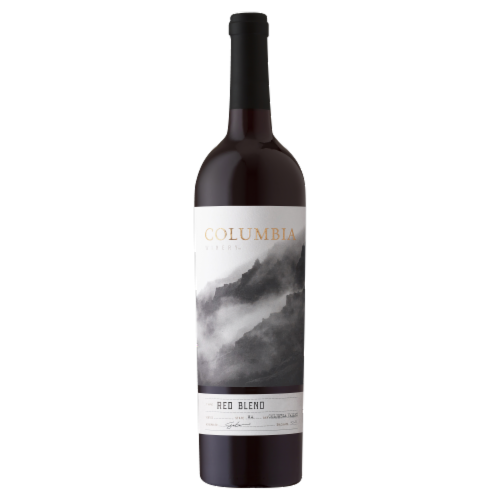 Columbia Winery Red Blend Red Wine Perspective: front