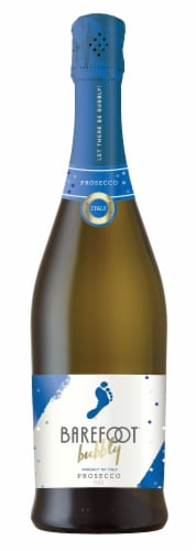 Barefoot Bubbly Prosecco Sparkling Wine 750ml Perspective: front