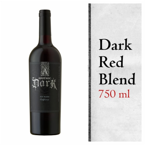 Apothic Dark Red Blend Red Wine 750ml Perspective: front