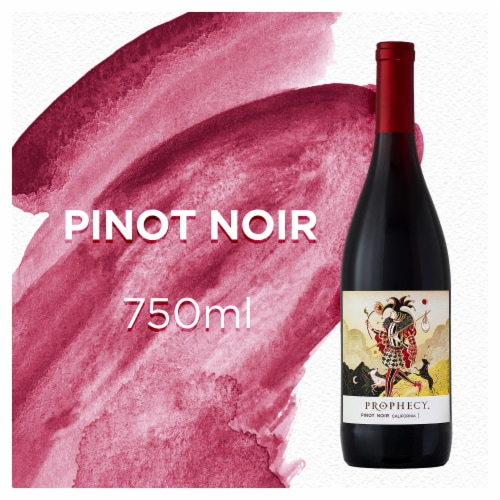 Prophecy Pinot Noir Red Wine Perspective: front