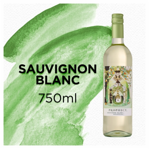 Prophecy Sauvignon Blanc White Wine Perspective: front