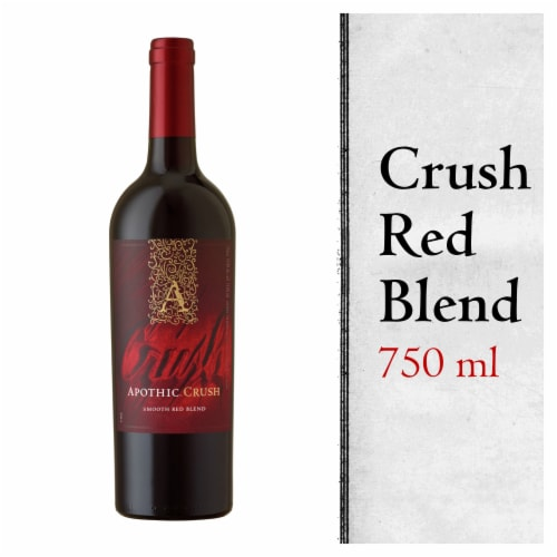 Apothic Crush Red Blend Red Wine 750ml Perspective: front
