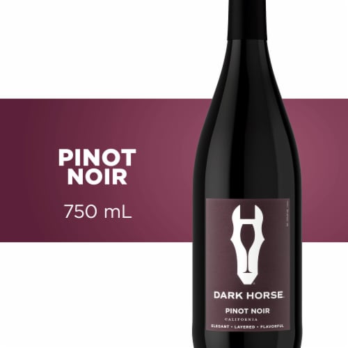 Dark Horse Pinot Noir Red Wine Perspective: front