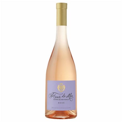 Fleur de Mer Rose Wine Perspective: front
