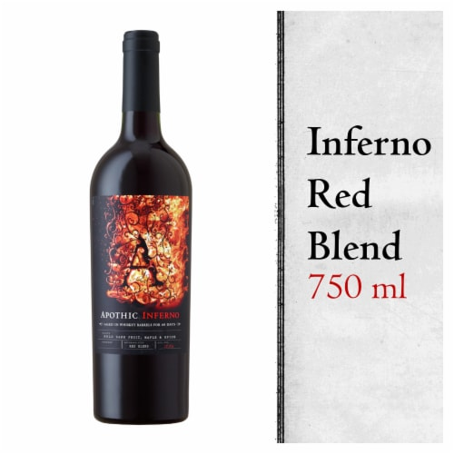 Apothic Inferno Red Blend Red Wine 750ml Perspective: front