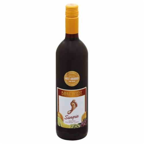 Barefoot Cellars Sangria Red Wine 750ml Perspective: front