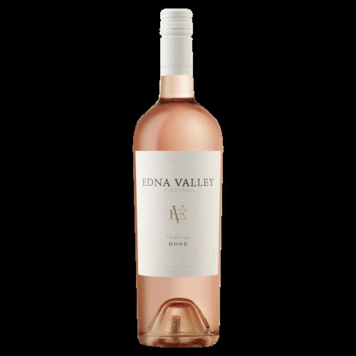 Edna Valley Vineyard Rose Wine Perspective: front