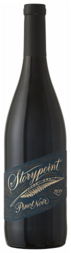 Storypoint Vineyards Pinot Noir Red Wine Perspective: front