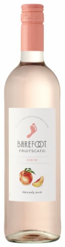 Barefoot Fruit-Scato Peach Moscato Perspective: front