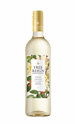 Free Reign Pinot Grigio Perspective: front