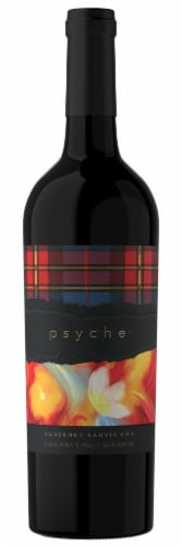 Psyche Cabernet Sauvignon Red Wine Perspective: front