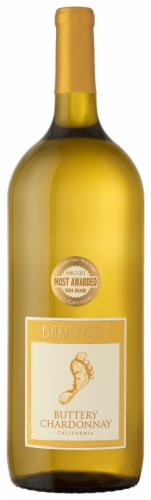 Barefoot Buttery Chardonnay White Wine Perspective: front