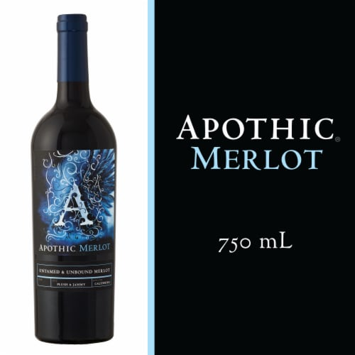 Apothic Merlot Red Wine Perspective: front