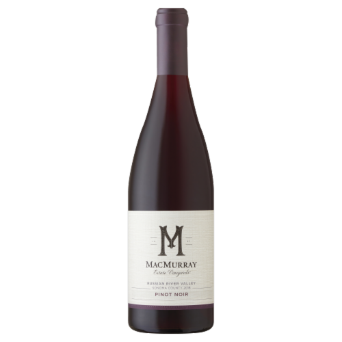 MacMurray Estate Russian River Valley Pinot Noir Red Wine 750ml Perspective: front