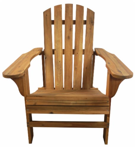 Leigh Country Adirondack Chair - Natural Stain Perspective: front