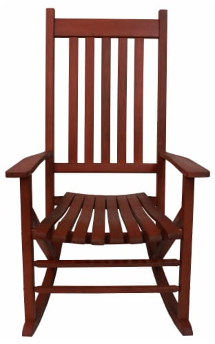 Leigh Country Heartland Rocking Chair - Natural Perspective: front