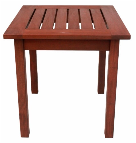 Leigh Country Heartland End Table - Natural Stain Perspective: front
