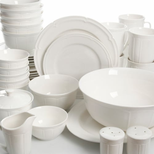Gibson 94742.37 Paton Dinnerware Set - 37 Piece Perspective: front