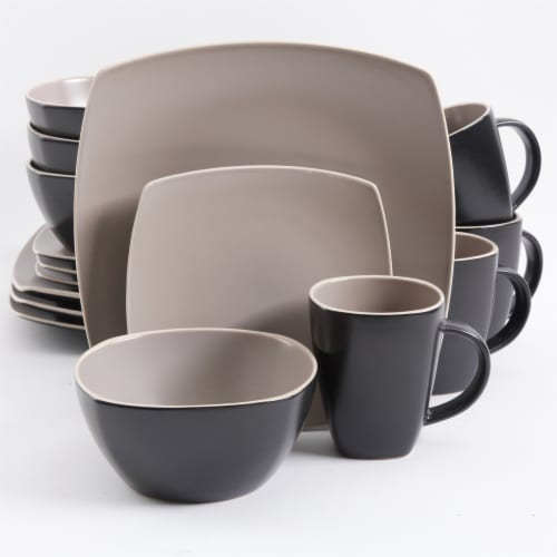 Gibson SoHo Lounge Dinnerware Set Perspective: front