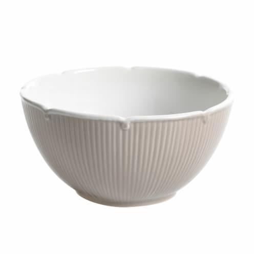 Martha Stewart Epherma Mixing Bowl - Warm Gray Perspective: front