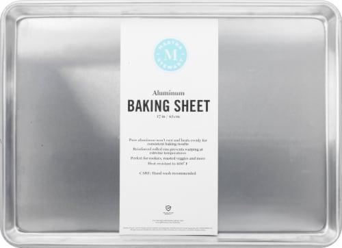 Martha Stewart Pure Aluminum Baking Sheet Perspective: front