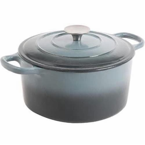Gibson CrockPot Dutch Oven - Grey Perspective: front