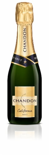 Chandon California Brut Sparkling Wine Perspective: front