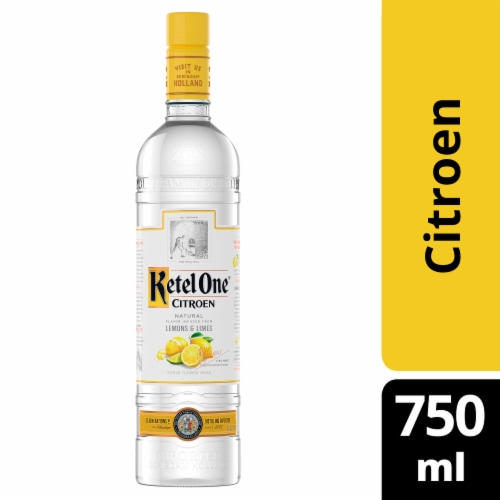 Ketel One Citroen Vodka Perspective: front