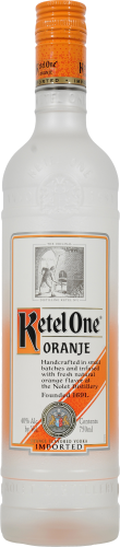 Ketel One Oranje Flavored Vodka Perspective: front