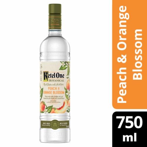Ketel One Botanical Peach & Orange Blossom Vodka Perspective: front