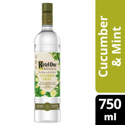 Ketel One Botanical Cucumber & Mint Vodka Perspective: front