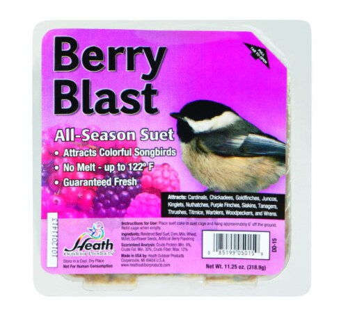 Heath Manufacturing Suet - Berry Blast Perspective: front