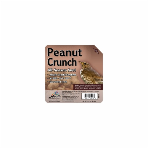 Heath Manufacturing Suet Cake - Peanut Crunch Perspective: front