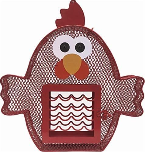 Heath Feeder Suet & Seed Chicken Perspective: front