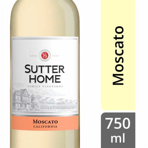 Sutter Home Moscato Perspective: front