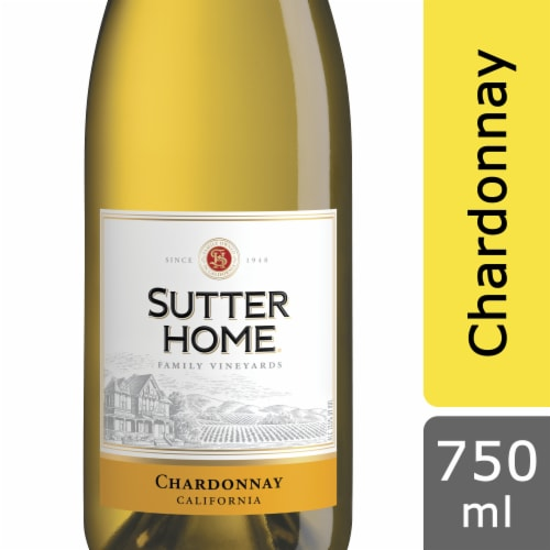 Sutter Home Chardonnay White Wine Perspective: front
