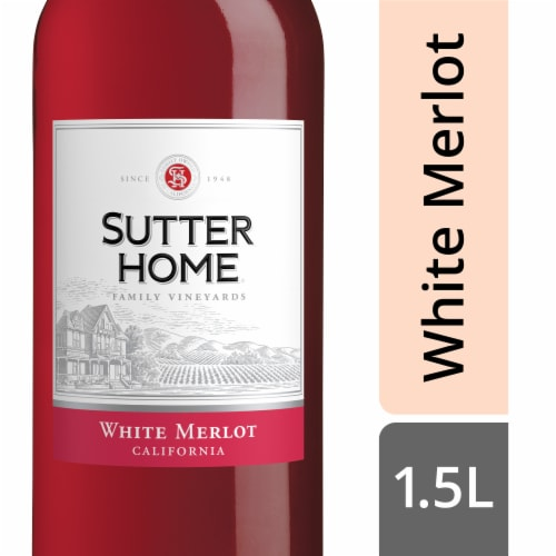 Sutter Home® White Merlot Blush Wine Perspective: front