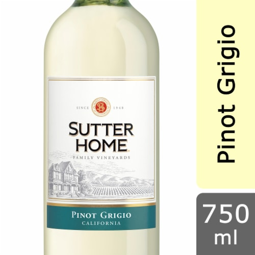 Sutter Home Pinot Grigio White Wine Perspective: front
