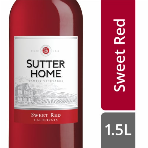 Sutter Home Sweet Red Wine Perspective: front