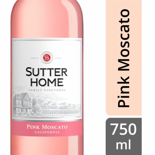 Sutter Home Pink Moscato Perspective: front