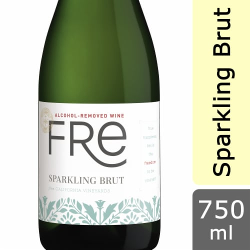 Fre Non-Alcoholic Sparkling Brut Perspective: front