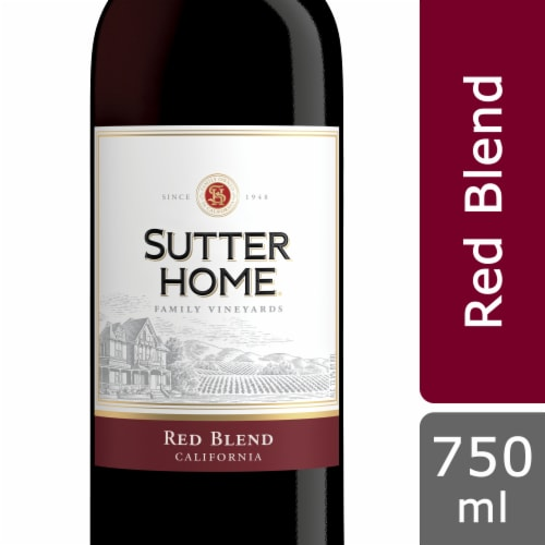 Sutter Home Red Blend Wine Perspective: front