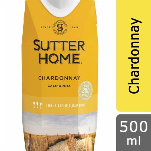 Sutter Home Chardonnay 500ml Tetra Pak Perspective: front