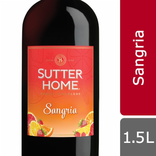 Sutter Home Sangria Red Wine Perspective: front