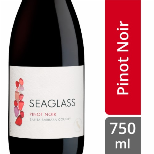 SeaGlass Pinot Noir Red Wine Perspective: front