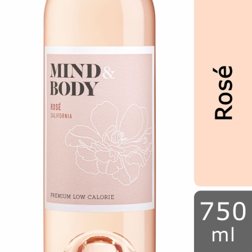 Mind & Body Rose Wine Perspective: front