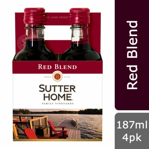 Sutter Home Red Blend Perspective: front