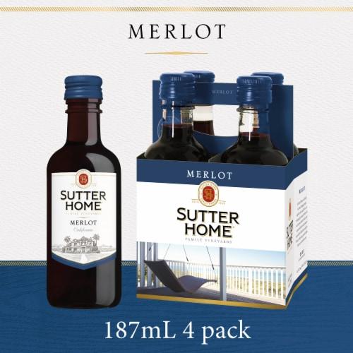 Sutter Home Merlot Perspective: front